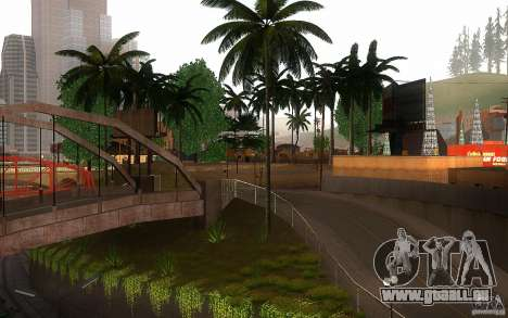 Perfekte Vegetation v. 2 für GTA San Andreas
