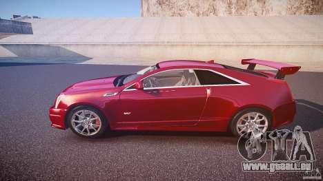 Cadillac CTS-V Coupe pour GTA 4 est une gauche