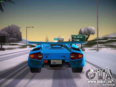 Lamborghini Countach LP5000 pour GTA San Andreas vue de droite
