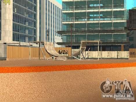 New SkatePark v2 pour GTA San Andreas deuxième écran
