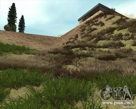 Grass form Sniper Ghost Warrior 2 pour GTA San Andreas deuxième écran