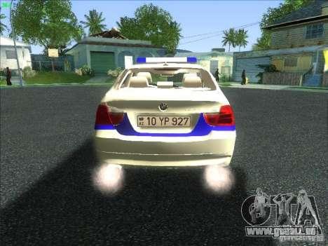 BMW 330i YPX für GTA San Andreas rechten Ansicht