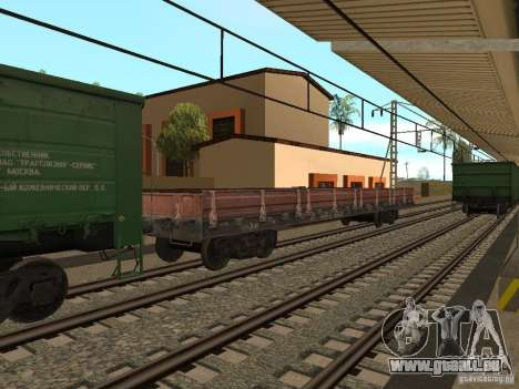 Eisenbahn-Änderung III für GTA San Andreas zehnten Screenshot