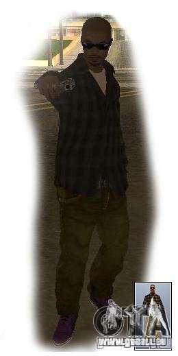 Gang de Vagos pour Crime-rues pour GTA San Andreas quatrième écran