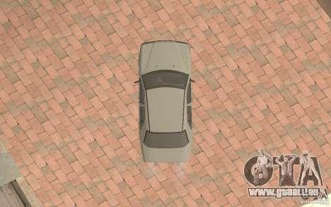 Mercedes-Benz E200 W124 pour GTA San Andreas vue intérieure
