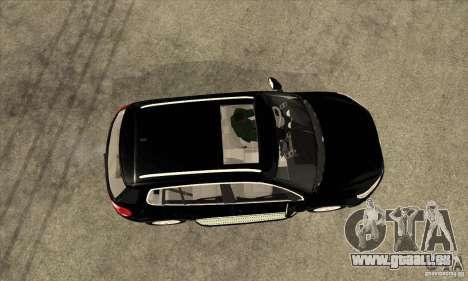 Volkswagen Tiguan 2.0 TDI 2012 pour GTA San Andreas vue arrière