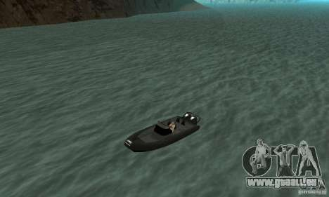 GTAIV Dinghy pour GTA San Andreas