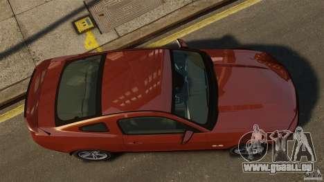 Ford Mustang GT 2011 für GTA 4 rechte Ansicht