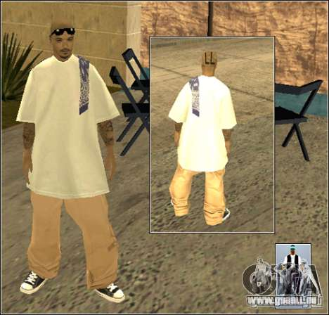 Skin Pack Getto für GTA San Andreas