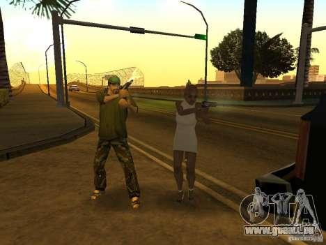 Flics camouflés pour GTA San Andreas