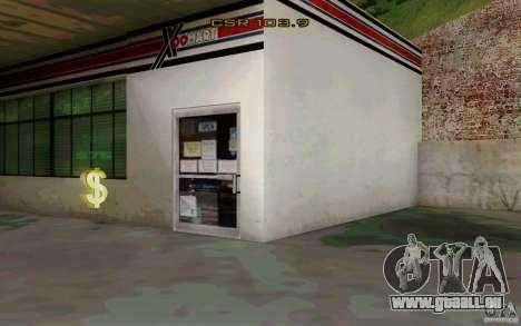 Das Tankstellen-Geschäft für GTA San Andreas her Screenshot
