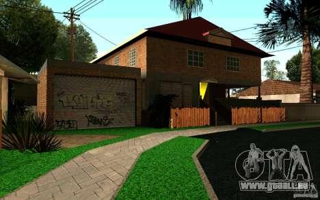 Maison Neuve sur Grove Street CJ pour GTA San Andreas