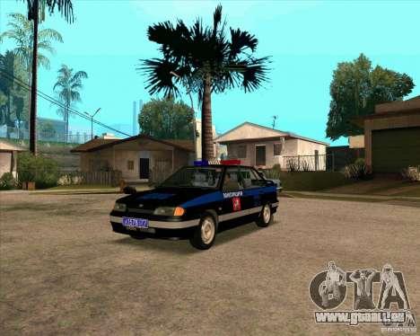 VAZ 2115 DPS pour GTA San Andreas