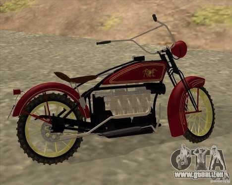 1923 ACE 1200cc für GTA San Andreas rechten Ansicht