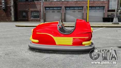Auto Tamponneuse pour GTA 4 est une gauche