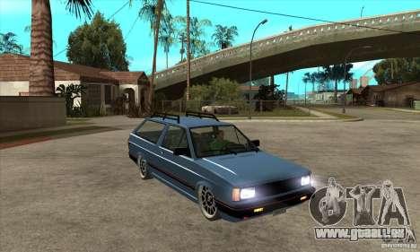 VW Fox 1989 v.2.0 für GTA San Andreas Rückansicht