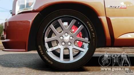Dodge Ram SRT-10 2006 EPM pour GTA 4 est une vue de l'intérieur