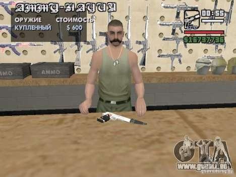 Silverballer zum Schweigen gebracht von Hitman für GTA San Andreas her Screenshot