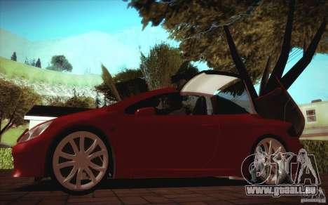 Peugeot 307CC BMS Edition pour les ordinateurs p pour GTA San Andreas vue de droite