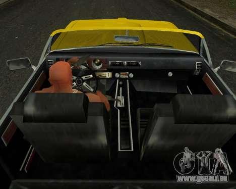 EON Stallion GT-A für GTA San Andreas Rückansicht