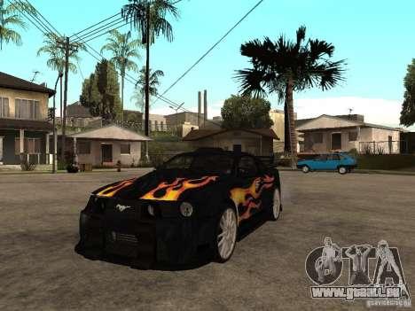 Ford Mustang GT Razor NFS MW für GTA San Andreas