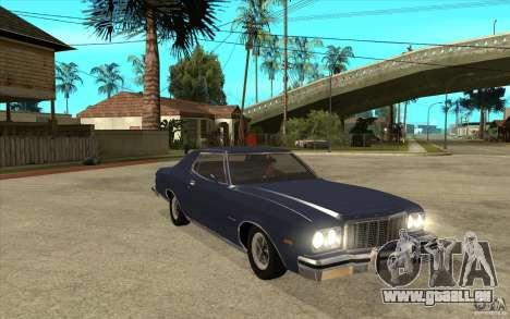 Ford Gran Torino Stock pour GTA San Andreas vue arrière