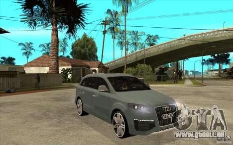 Audi Q7 V12 TDI 2011 pour GTA San Andreas vue arrière