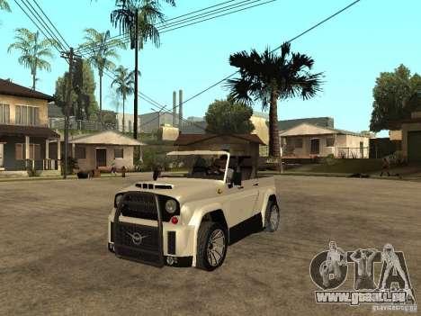 Uaz Cabriolet pour GTA San Andreas