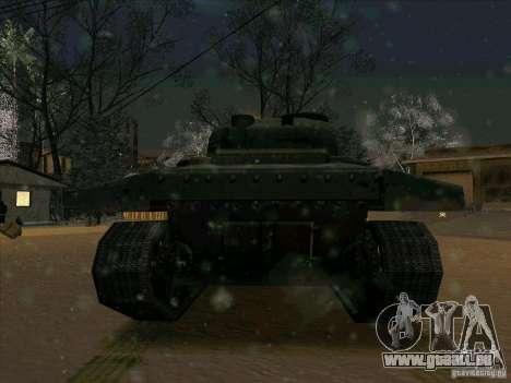 Sherman pour GTA San Andreas vue arrière