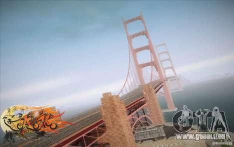 New Golden Gate bridge SF v1.0 pour GTA San Andreas quatrième écran