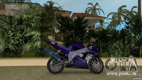 Yamaha YZF R1 pour une vue GTA Vice City de la gauche