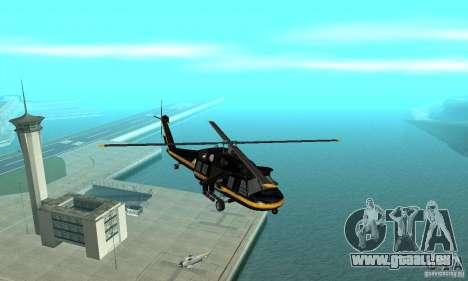 Annihilator pour GTA San Andreas vue intérieure