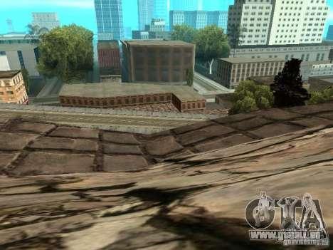 Stone Mountain pour GTA San Andreas huitième écran