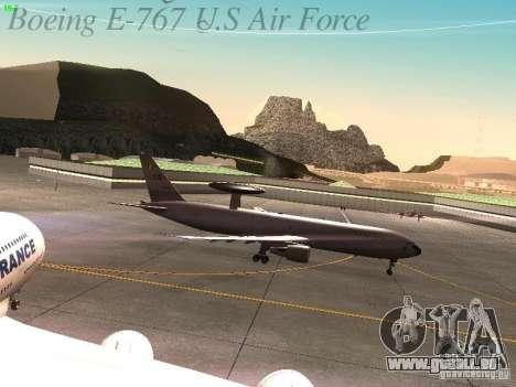 Boeing E-767 U.S Air Force pour GTA San Andreas vue intérieure