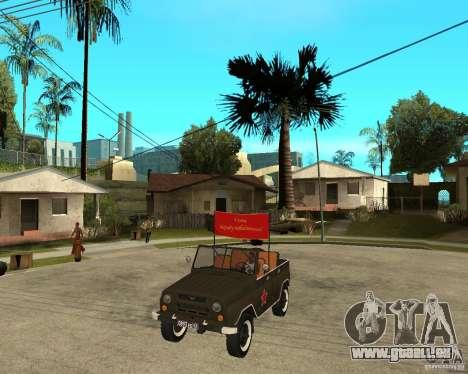 UAZ 469 Parade pour GTA San Andreas