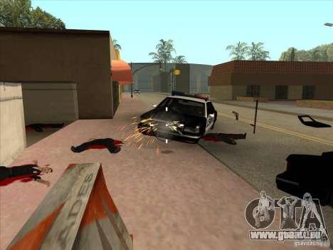 CLEO-Skript: Maschinengewehr in GTA San Andreas für GTA San Andreas dritten Screenshot