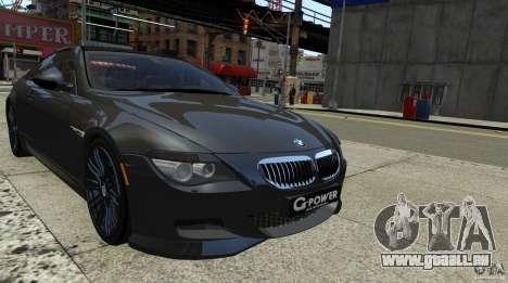BMW M6 Hurricane RR pour GTA 4 Vue arrière de la gauche