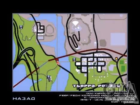 Dragon pour GTA San Andreas quatrième écran