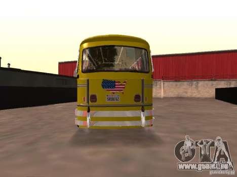 Bedford School Bus für GTA San Andreas zurück linke Ansicht