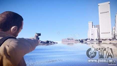 Neue Deagle für GTA 4 Sekunden Bildschirm