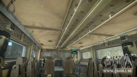 HEMTT Phalanx Oshkosh für GTA 4 Rückansicht