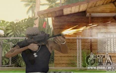Saiga 12 c de Warface pour GTA San Andreas cinquième écran