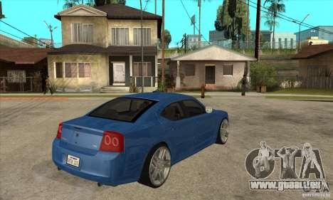 Dodge Charger R/T 2006 pour GTA San Andreas vue de droite