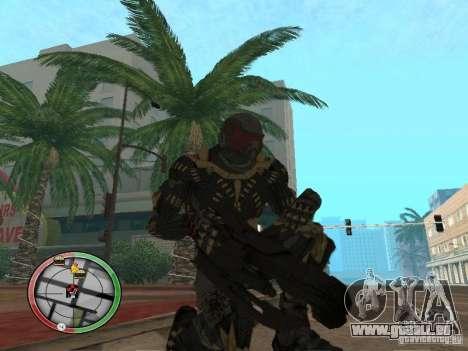 Armes exotiques de Crysis 2 pour GTA San Andreas