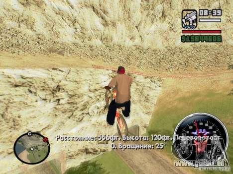 Speed Udo pour GTA San Andreas septième écran