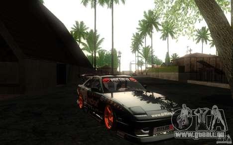 Nissan Silvia RPS13 Noxx pour GTA San Andreas vue intérieure