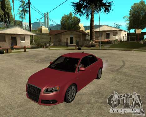 Audi S4 tunable pour GTA San Andreas