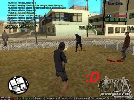 m0d S0beit 4.3.0.0 Full rus für GTA San Andreas fünften Screenshot