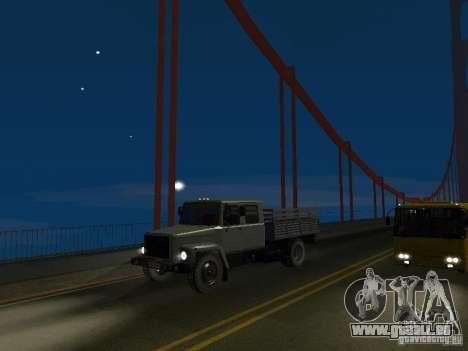 GAZ 3309 Huntsman pour GTA San Andreas vue de droite