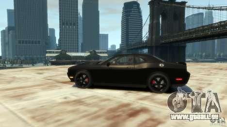 Dodge Challenger SRT8 pour GTA 4 Vue arrière de la gauche